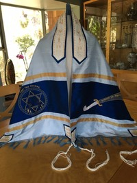Max's Tallit Front