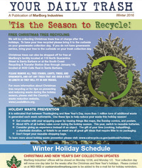Winter 2016 - Your Daily Trash Newsletter - County of Santa Barbara