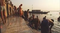 Varanasi Ganges: Bathing, Prayers, People