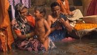Varanasi Ghanges Bath Time