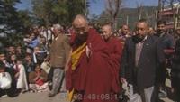 Dalai Lama's Exit Ceremony