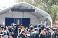 UC Santa Barbara Commencement 2014 05