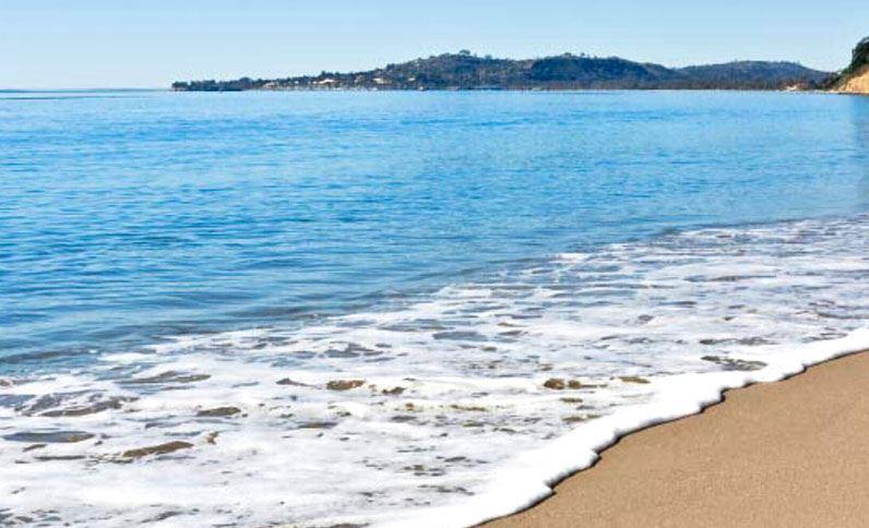 Ocean front near Pacific Crest Hotel Santa Barbara