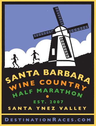 the 11th Annual Santa Barbara Wine County Half Marathon