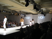 Audio Visual UGG Australia fashion show in Laguna Beach
