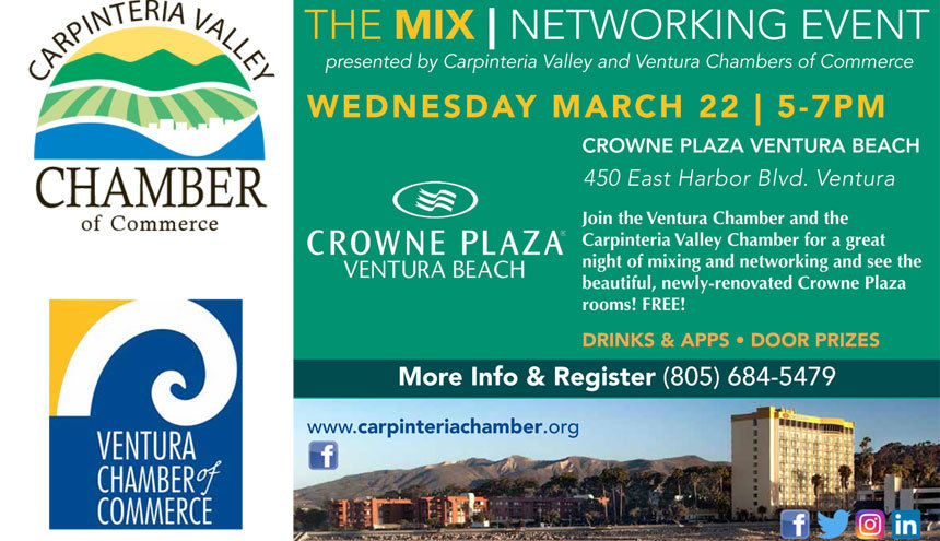 Joint MIXER with the Ventura Chamber of Commerce
