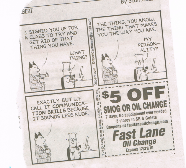 Dilbert communications cartoon
