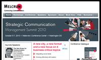 Meet us at Melcrum's SCM Conference, Washington D.C.