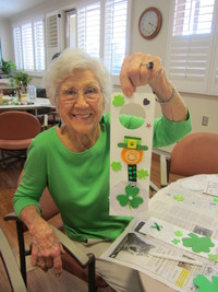 St. Patrick's Day Craft Fun