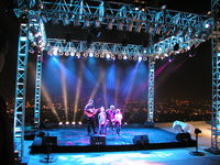 Santa Barbara Concert Lighting Rental30
