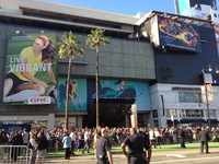 Back to LA and the Dolby Theatre for the Brave Premiere 01