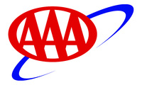 Santa Barbara American Automobile Club (AAA) Logo