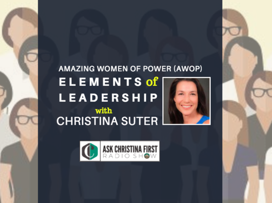 AWOP Conference: Elements of Leadership