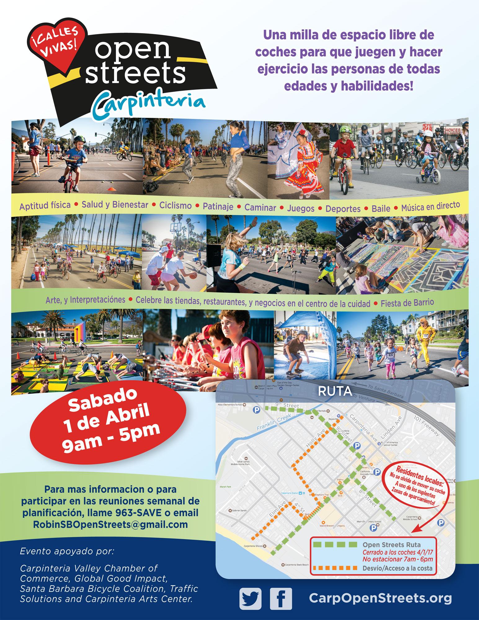 Open Streets Spanish