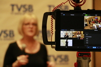 TVSB filming at the 2017 Santa Barbara Business Expo - Be Included