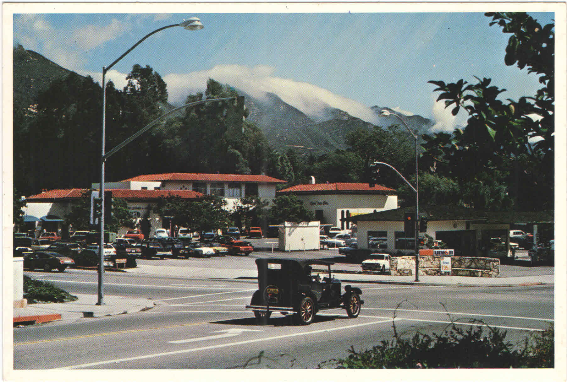 The Corner Green Old Postcard Montecito Foundation