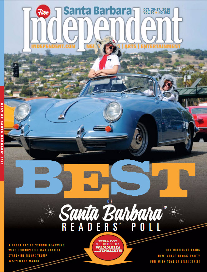 2016 Best Veterinary of Santa Barbara 01