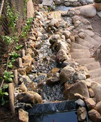 Cascading Stream Waterfall