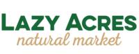 Lazy Acres Market Santa Barbara Grocery Logo