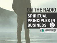 On The Radio: Spiritual Principles in Business