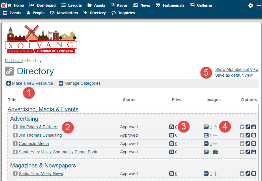 Manage Directory Listings 05