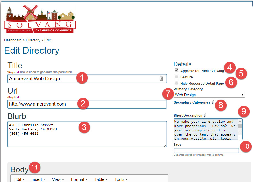 Manage Directory Listings 07