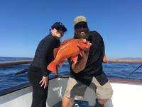 Coral Sea 1/2 day has Hot Local bite!