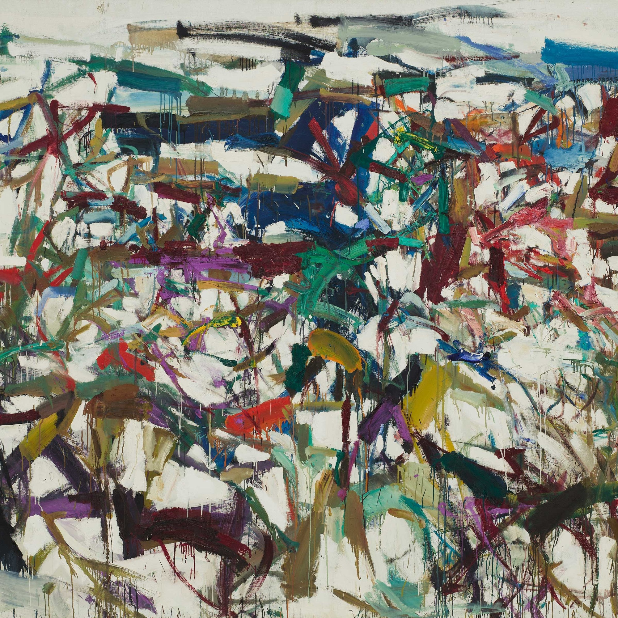 Joan Mitchell at Museum of Modern Art (MOMA) New York