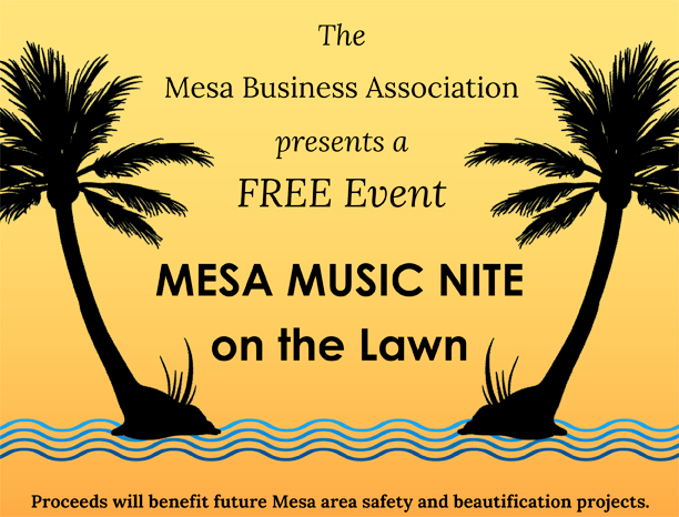 Mesa Music Nite at Elings Park Santa Barbara Logo