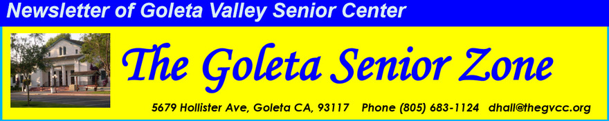 Goleta Valley Community Center Newsletter