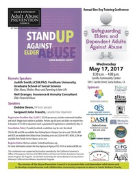 Sign Up and Stand Up to Elder Abuse...Annual Training Conference