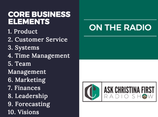 Radio: Core Business Elements