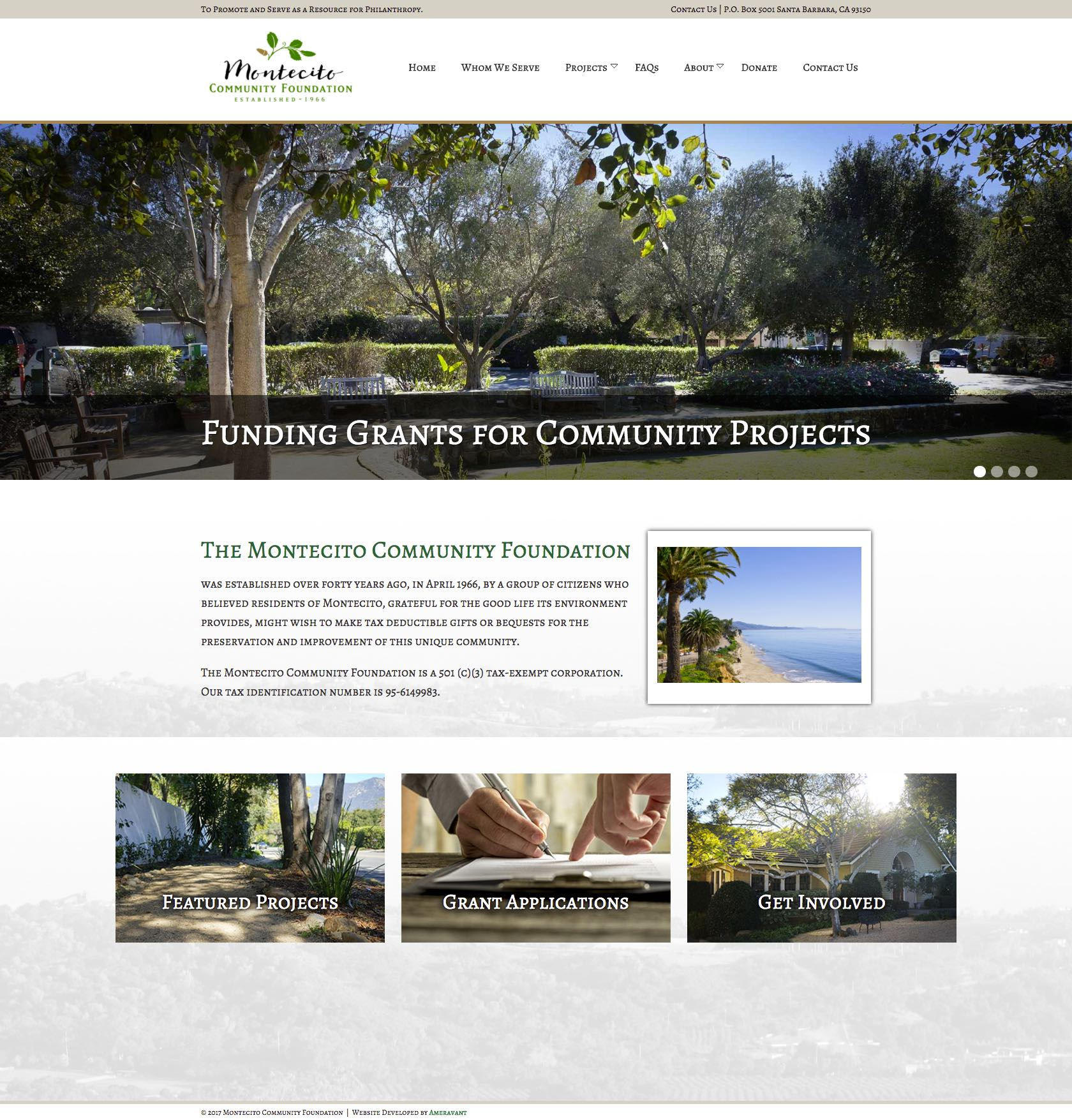 The Montecito Community Foundation Home