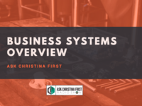 Business Systems Overview