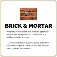 CONGRATULATIONS to  BRICK & MORTAR BUSINESSES