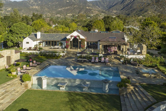 Montecito Vacation Estate Rental with Ocean View
