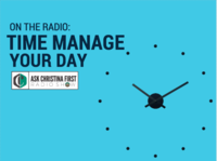 On the Radio: Time Manage Your Day