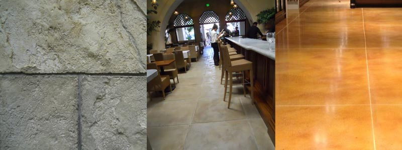 Decorative Concrete Micro-Toppings Gallery