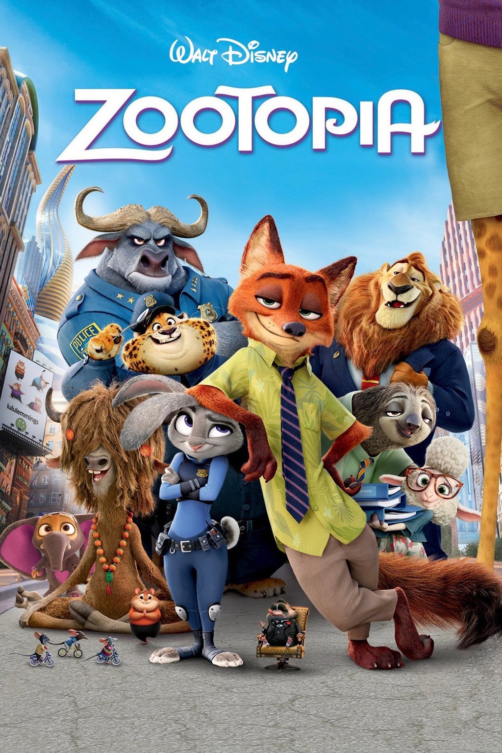 Zootopia Movies in the Park