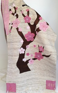 Anna's Flowering Tree of Life Tallit
