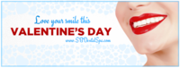 Happy Valentine's Day from Santa Barbara Dental Spa!