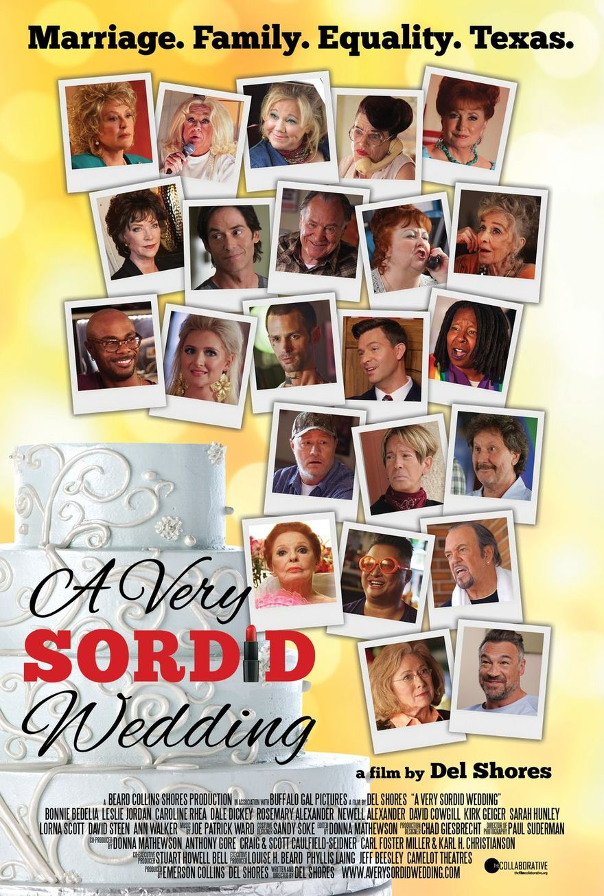 A Very Sordid Wedding Movie Poster - Kirk Geiger