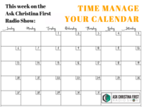 Radio: Time Manage Your Calendar