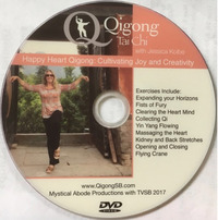 Happy Heart DVD Qigong Santa Barbara Jessica Kolbe