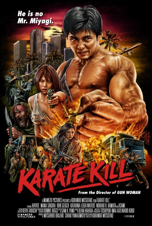 Philadelphia Unnamed Film Festival Movie Review: Kurando Mitsutake's KARATE KILL
