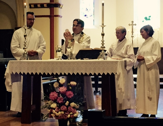 Guest Celebrant and Preacher for St. Mark's, Downey