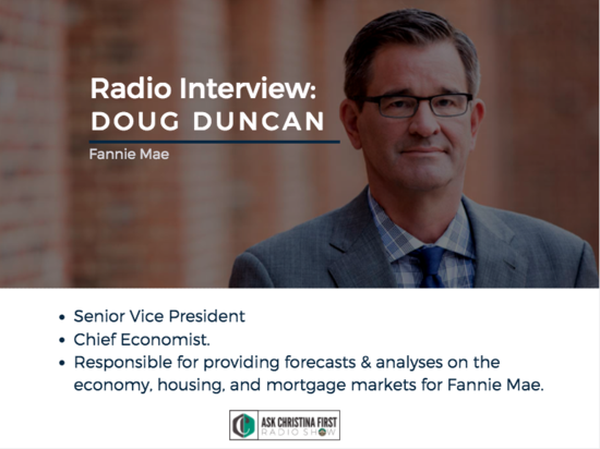 Radio: My Interview with Doug Duncan Senior VP of Fannie Mae
