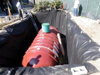 Below Ground Cistern