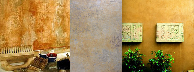 Decorative Wall Finishes Santa Barbara Paint Applications