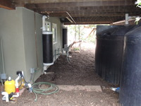 Rainwater Tanks First Flush Under Deck